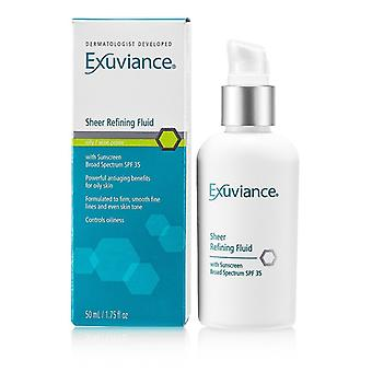 Exuviance Sheer Raffination Fluid SPF 35 (für fettige / unreine Haut) 50ml / 1,75 oz