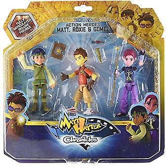 Simba Matt Hatter Chronicles Heroes Pack 3 (Toys , Action Figures , Dolls)