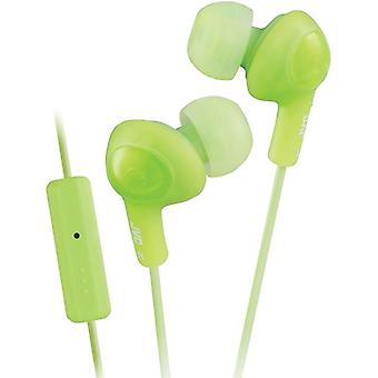 Ha-Fr6-G Plus Gumy In-Ear Headphones W/Mic Green