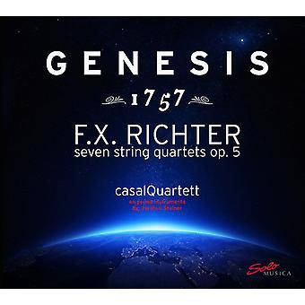 Richter - syv strygekvartetter Op 5 [SACD] USA import
