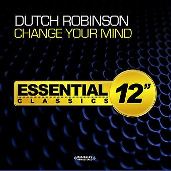 Dutch Robinson - Change Your Mind USA import