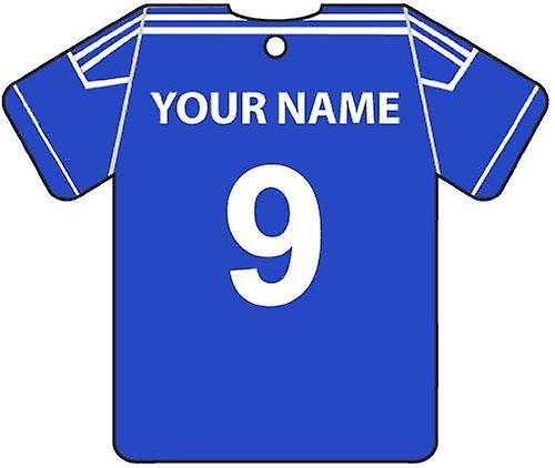 Personalised Macclesfield Town Football Shirt Car Air Freshener