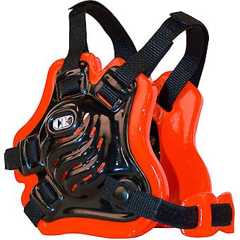 Cliff Keen F5 Tornado Wrestling Headgear - Black/Orange/Black