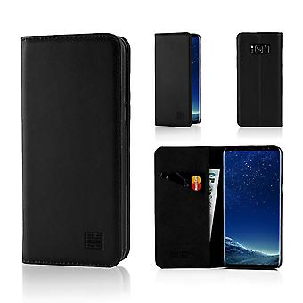 32nd Classic Wallet for Samsung Galaxy S8 - Black