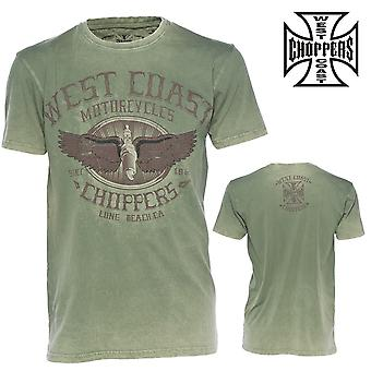 West Coast choppers T-Shirt vingar logo tee