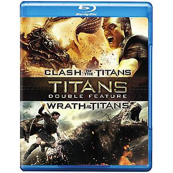 Clash of the Titans (2010)/Wrath of the Titans [BLU-RAY] USA import