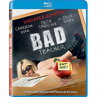 Bad Teacher Unrated [BLU-RAY] USA import