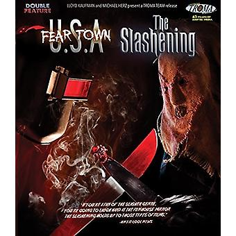 Frygt Town Usa / Slashening - Double Feature [Blu-ray] USA import