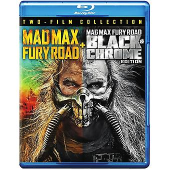 Mad Max: Fury Road / Fury Road Black & Chrome [Blu-ray] USA import