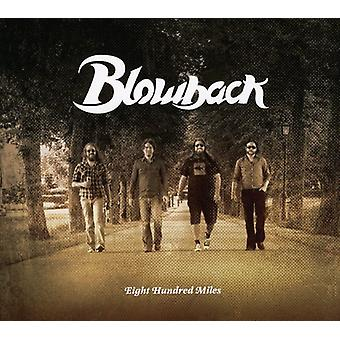Blowback - Eighthundred Miles [CD] USA importerer