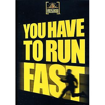 You Have to Run Fast [DVD] USA import