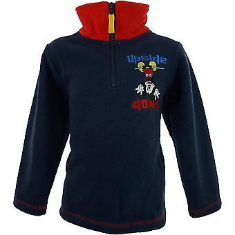 Garçons NH1100 Disney Mickey Mouse polaire demi Zip Sweatshirt