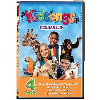 Kidsongs - dyrs sjov [DVD] USA importerer