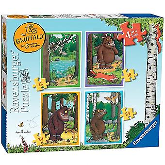 Ravensburger The Graffalo & Friends 4 Puzzles In A Box