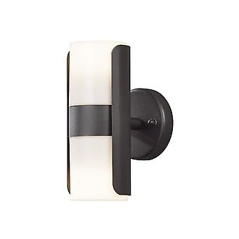 Konstsmide Modena Double Wall Light Black