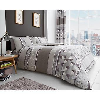 Madison Geo trykte moderne dyne dækning sengetøj dyne sæt alle størrelser