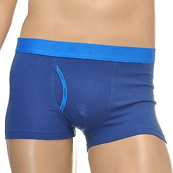 Jockey International Collection Short Trunk, Twilight Blue, Small