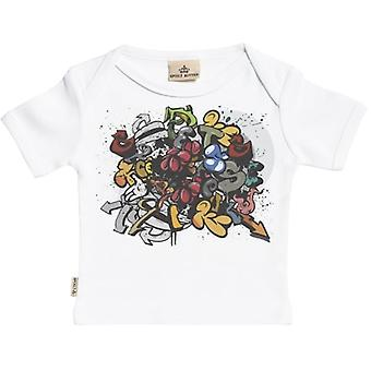 Spoilt Rotten Graffiti Short Sleeve Baby T-Shirt