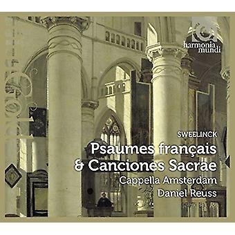 Sweelinck / Cappella Amsterdam - Psaumes Francais & Canciones Sacrae [CD] USA import