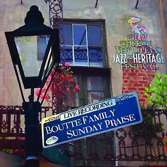 Boutte familie søndag Rose - Live på Jazzfest 2013 [CD] USA import