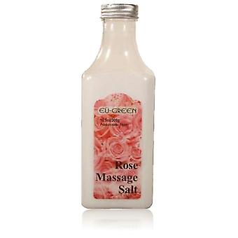 Royal massasje naturlig Sea Salt Mineral massasje skrubbing salter 10,5 oz flaske - Rose