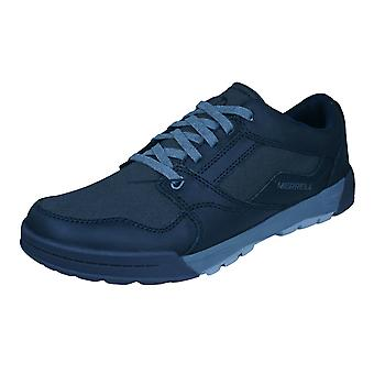 Merrell Berner Shift Lace Mens Trainers / Shoes - Black