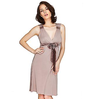 Mio Lounge Santiago mikro sperrende Mocha Nightdress 132C487M