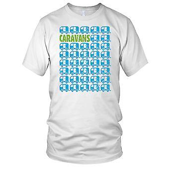 Caravans Love Campers Mens T Shirt