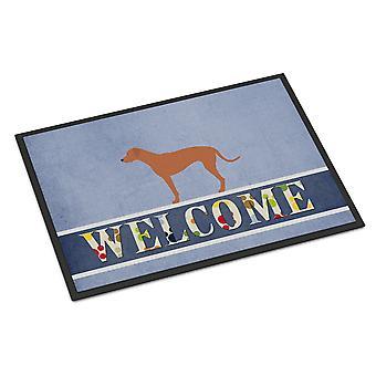 Rhodesian Ridgeback Welcome Indoor or Outdoor Mat 24x36
