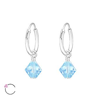 Xilion Bead crystal from Swarovski® - 925 Sterling Silver Earrings