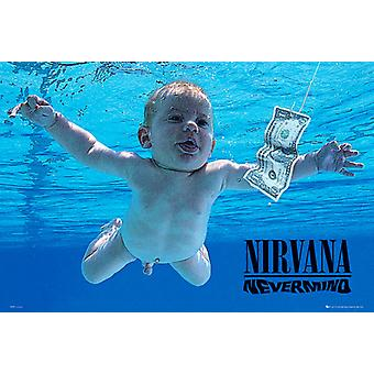 Nirvana Nevermind Poster Poster Print