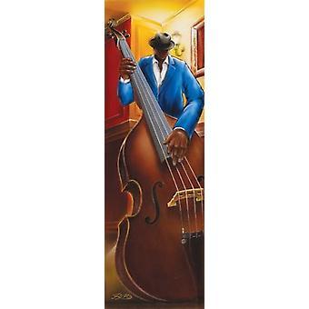 Magrini Jazz Bass Iii Poster Poster Print