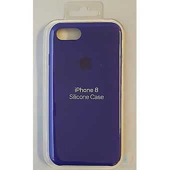 I sin originale emballasje Apple silikon mikro Fiber tilfelle for iPhone 8 / 7 - violet