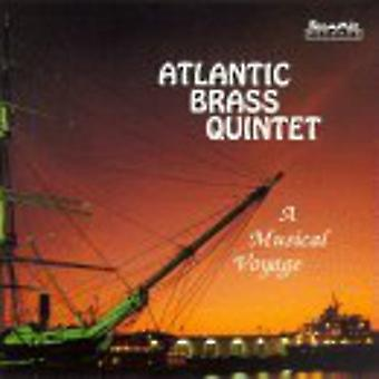 Atlantic messingkvintet - en musikalsk rejse [CD] USA importerer