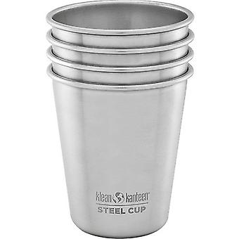 Klean Kanteen 296ml Stainless Steel Cup (Pack of 4)