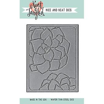 Neat & Tangled Die-Succulent Cover Plate  NAT266
