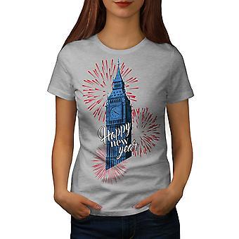 Reino Unido torre torre nueva GreyT-camisa de las mujeres | Wellcoda