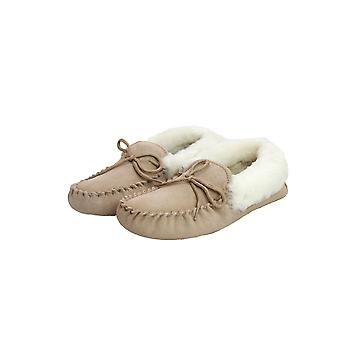 Eastern Counties Leather Womens/Ladies Soft Sole Sheepskin Moccasins