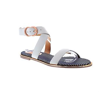 Ted Baker Qereda - White Leather Womens Sandals