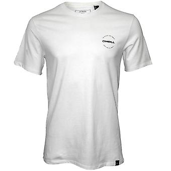 O'Neill Through The Lens Crew-Neck T-Shirt, Powder White