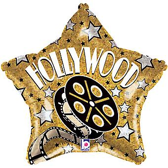 Oaktree Betallic 19 Inch Hollywood Star Balloon