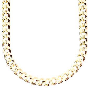 مثلج خارج سلسلة الهيب هوب بلينغ-الذهب الكوبي 8 مم