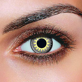 Glamour Grey Contact Lenses (Pair)