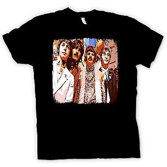 Hommes T-shirt - The Beatles - Pop Art - 60