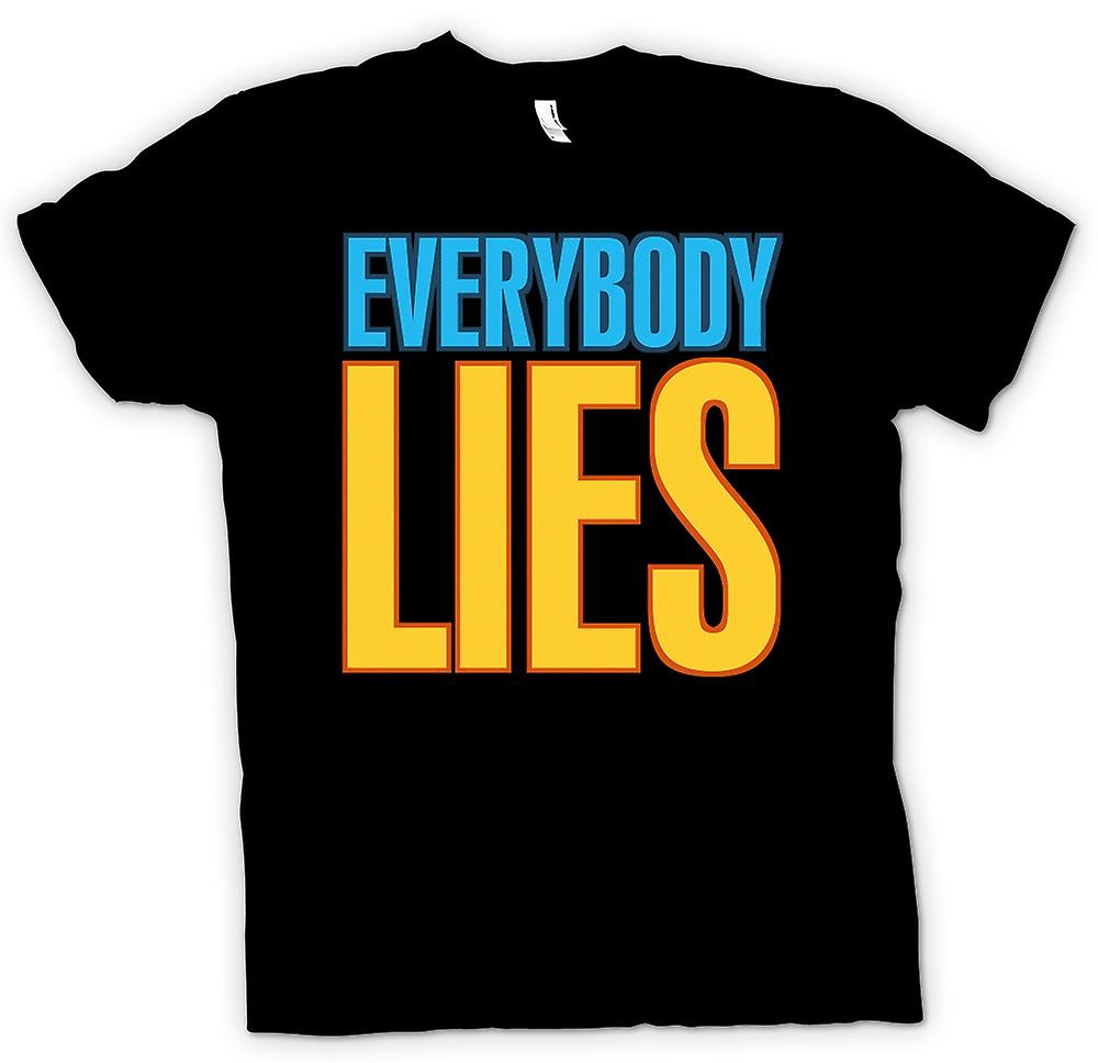 Mens T-shirt - Everybody Lies