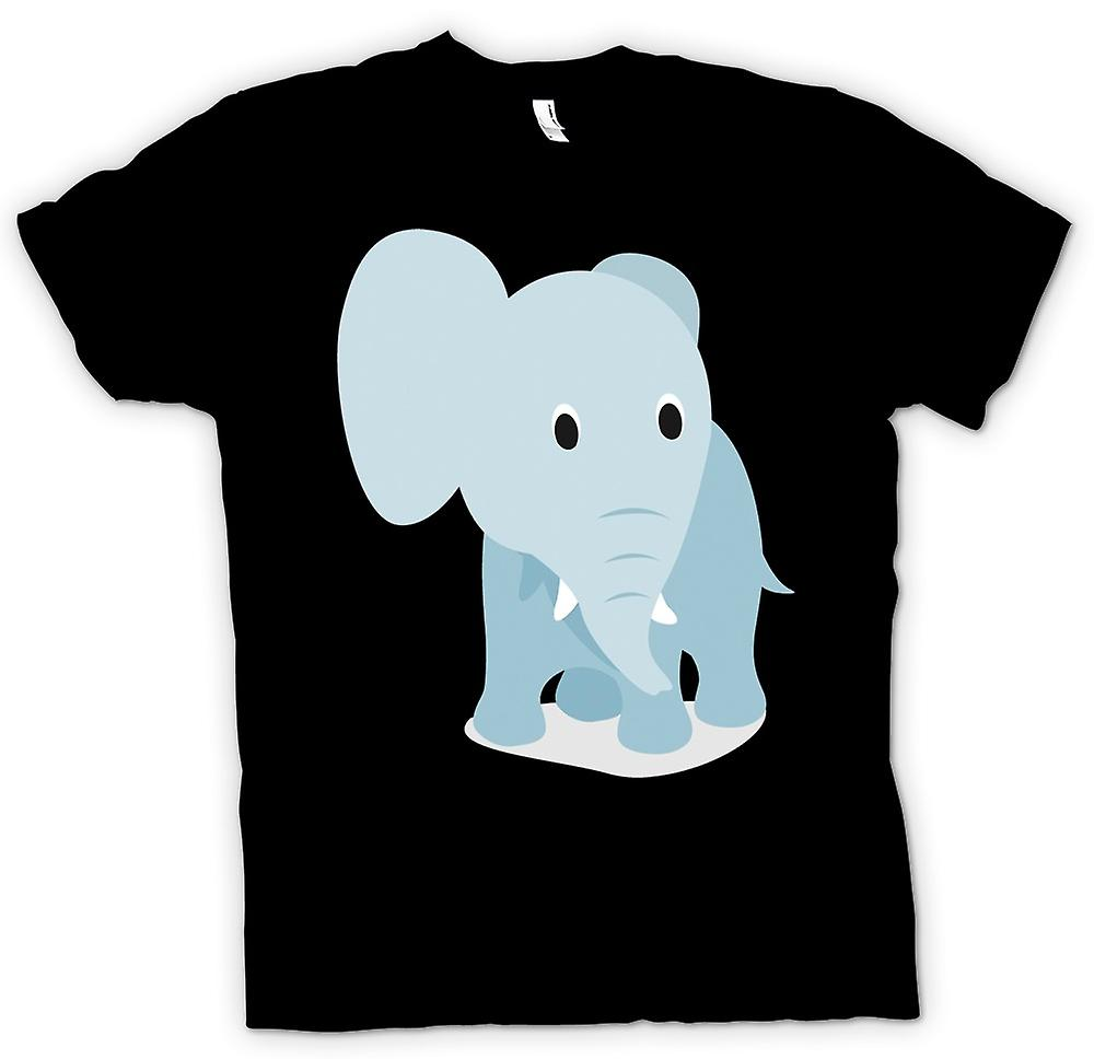Mens T-shirt - I Love Elephants - Cute Elephant