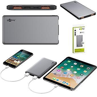 Goobay universal quick charge charger Powerbank Notfallakku 10000 mAh