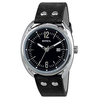 Breil Beaubourg Stainless Steel Black Dial Black Strap TW1669 Watch