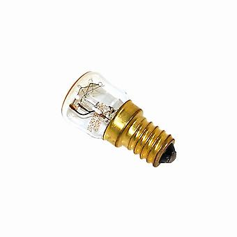 Indesit grupo 15W SES (E14) pigmeo lámpara horno/refrigerador a prueba de calor