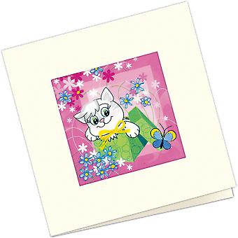 Gift Card Stamped Cross Stitch Kit-5.5